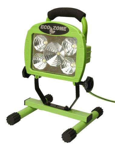 Designers Edge L1312 5x1W LED Worklight, Green, 120-Volt