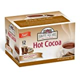Grove Square Hot Cocoa, Milk Chocolate, Single Serve Cup for Keurig K-Cup Brewers, 72 Cups