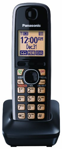 Panasonic Kx-Tga410B Extra Handset For Kx-Tg76Xx Cordless Phones Series