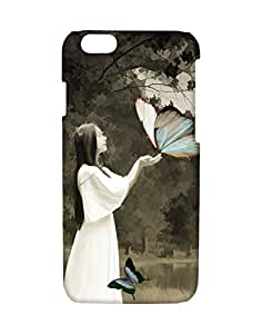 Mobifry Back case cover for Apple iPhone 6 Mobile ( Printed design)