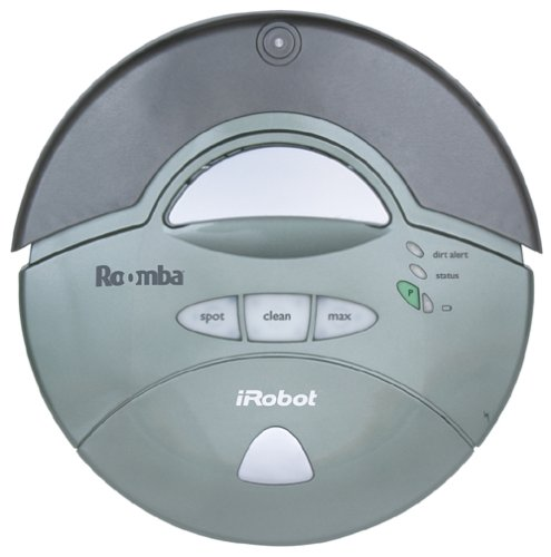 Irobot Roomba 4105 Intelligent Floorvac Robotic Vacuum, Sage front-524703