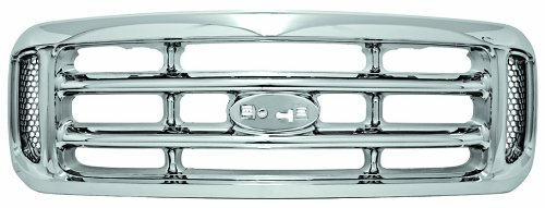 IPCW CWG-FD1107A0C Ford Super Duty Chrome Grille (2004 Ford F350 Grill compare prices)