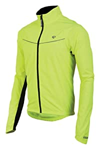 Pearl Izumi Men's Select Thermal Barrier Jacket, Screaming Yellow, Large