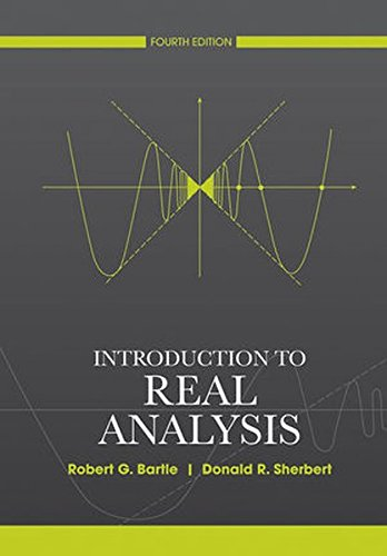 real analysis bartle solutions pdf