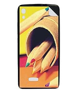Techno Gadgets Back Cover sticker for Xolo A600