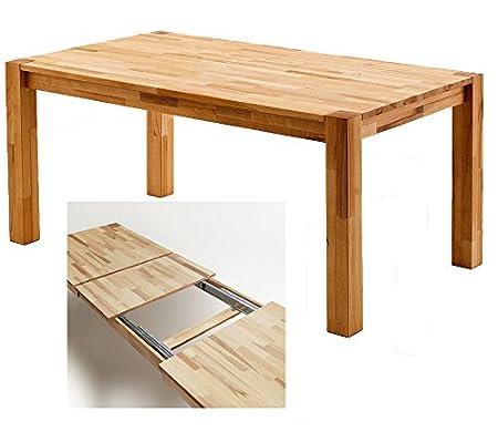 Tavolo da pranzo » Argo « in faggio massiccio, oliato 160–250cm