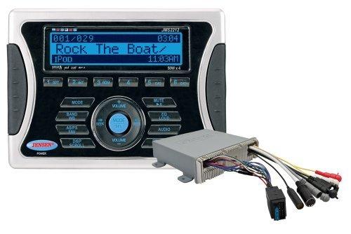 JENSEN JMS2212 AM/FM/USB/iPod/SIRIUS with Weatherband