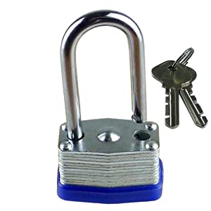 40 mm Laminated Padlock With Long Shackle (Pack of 1)