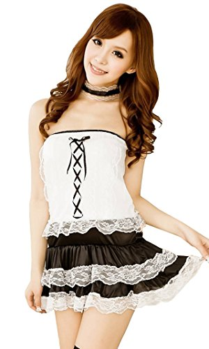 Cosplay Costume High Quality Halloween Costume Fancy Dress Maid Uniform