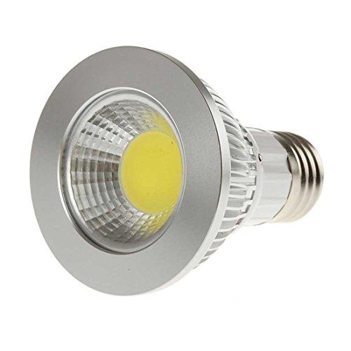 Sungetace 9W Cob Led Par20 Led Spot Bulb Light Flood Ceiling Downlight E27 Base 600 Lumen Bright Cool White