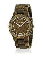 Earth Wood Watches Reloj con movimiento japonés Unisex Unisex Earth Bighorn 46.0 mm