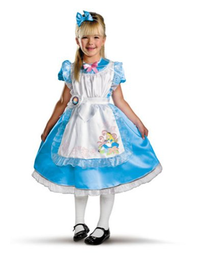 Alice Deluxe Toddler Costume 3T-4T - Toddler Halloween Costume