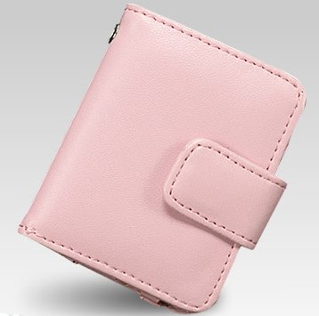 iPOD NANO 3G 3RD GENERATION CASE COVER WITH MAGNETIC CLIP - PINK