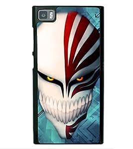 Skull 2D Hard Polycarbonate Designer Back Case Cover for Xiaomi Redmi Mi3