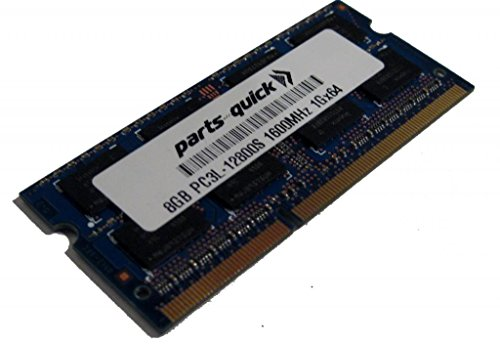 Click to buy 8GB Memory Upgrade for Fujitsu LIFEBOOK E734 DDR3L 1600MHz PC3L-12800 SODIMM RAM (PARTS-QUICK BRAND) - From only $86.99