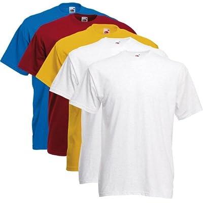 Fruit of the Loom T-Shirts 5 Pack - Super Premium T - color set 2