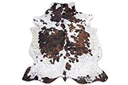 High Quality Tricolor Rodeo Cowhide Rug XXL 6x8ft (180cmx240cm)TR6X8