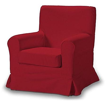 FRANC-TEXTIL 613-705-60 Ektorp Jennylund, Poltrona rivestimento, poltrona esprito, Etna, colore: Rosso