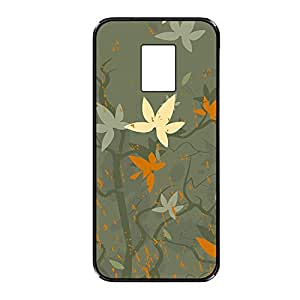 Vibhar printed case back cover for Samsung Galaxy Note 3 Neo LeafUp