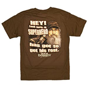 Duck Dynasty Hey! Superhero Needs His Rest Uncle Si T-Shirt