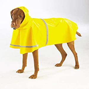 Guardian Gear Rain Jacket for Pets, Small, Yellow