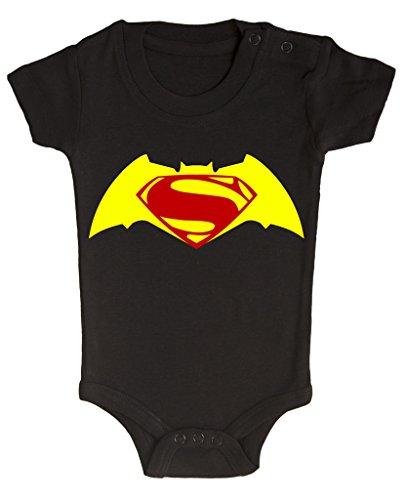 BODY tutina pagliaccetto Batman vs Superman 6 mesi