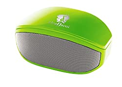 Life N Soul BM208-G Bluetooth Stereo Speaker w/3.5mm Auxiliary Port (Green)