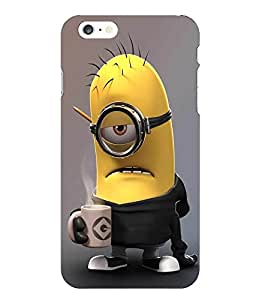 Make My Print Minions Printed Multicolor Hard Back Cover For Iphone 6 Plus