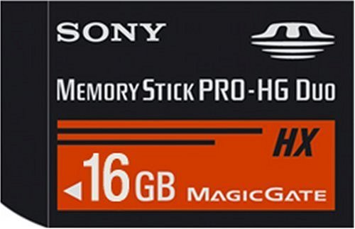 Sony MSHX16G 16GB Memory Stick PRO-HG Duo + USB