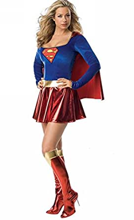 Supergirl One Piece Adult Women's Costume