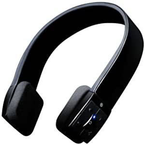 Sonixx X-Sport Bluetooth Casque sans fil avec microphone (iPhone / iPad / Android / Windows / Samsung Galaxy / HTC etc.) - (Noir)