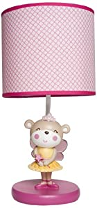 Carter's Lamp Base and Shade, Fairy Monkey