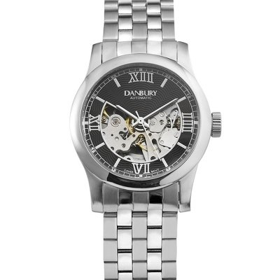 Things Remembered  Watches savings deal: Personalized Black Dial Skeleton Wrist Watch