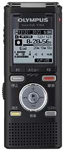 OLYMPUS ICレコーダー VoiceTrek 8GB リニアPCM対応 MicroSD対応 BLK ブラック V-823