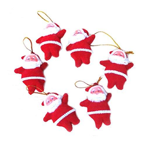 Ukamshop 6 rot Weihnachtsmann