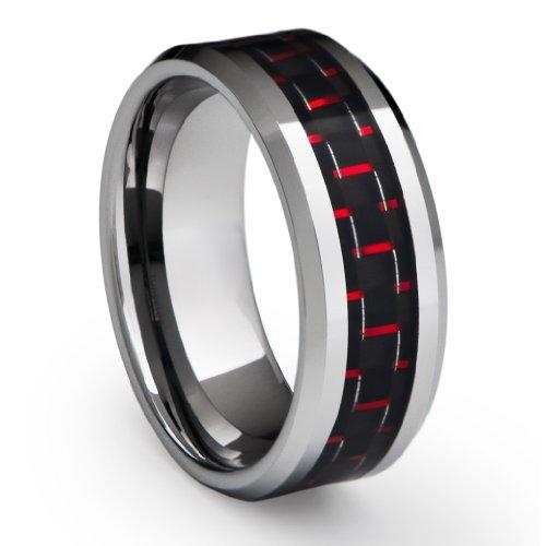 10mm Tungsten Carbide Wedding Bands 40 Good MM Men us Tungsten