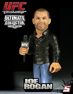 Round 5 UFC Ultimate Collector Series 6 LIMITED EDITION Action Figure Joe Rogan