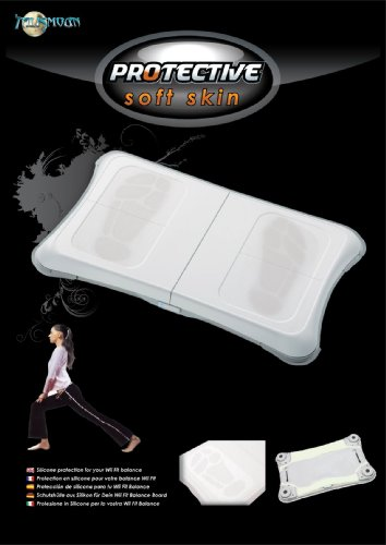 Talismoon Protective Soft Skin for the Wii Balance Board in White