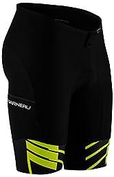 Louis Garneau Pro 9.25 Carbon Short - Men\'s Black/Bright Yellow, M