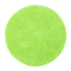 Ikea bright green round circular non slip bathroom mat for Ikea small round rugs