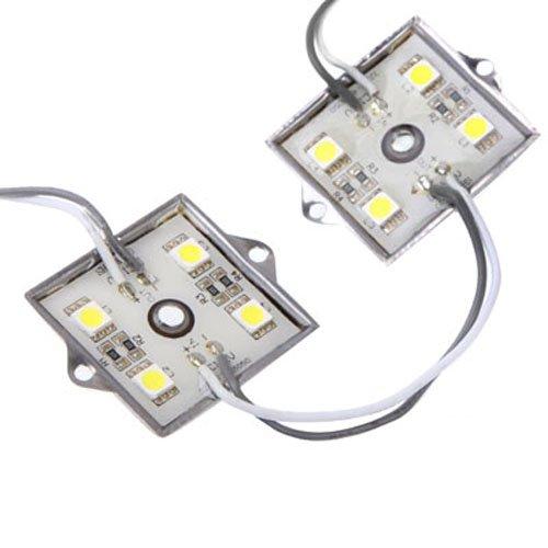 Puluz 20 X 4 Led White 5050 Smd Led Module Light Strip Dc 12V