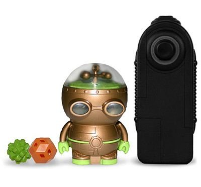 Zibits Mini RC Robot Helix Copper & Green Limited