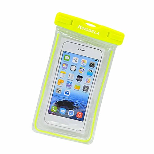 KINGBELA Universal Waterproof Case Bag for Apple iPhone ,fits other Smartphones up to 6.0