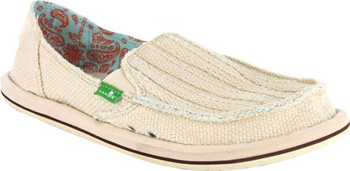 Sanuk Women's Carpe DM Sidewalk Surfer,Sand,8 M US