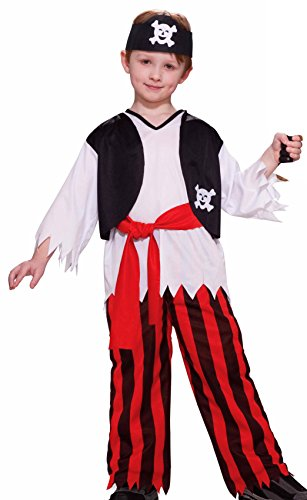 Forum Novelties Pirate Boy Costume, Child Large