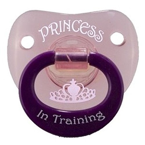 Billy Bob Princess In Training Pacifier front-441042