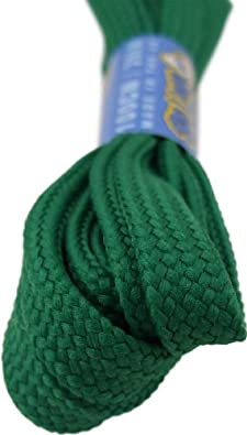 Big Laces Flat Shoelaces - Huge choice of Lengths and Colours (10mm X 100cm, ...
