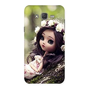 Enticing Angel And Tree Multicolor Back Case Cover for Galaxy J7