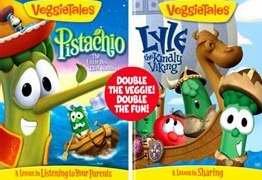 Dvd veggie tales pistachio lyle kindly 2 for Veggietales pistachio coloring pages