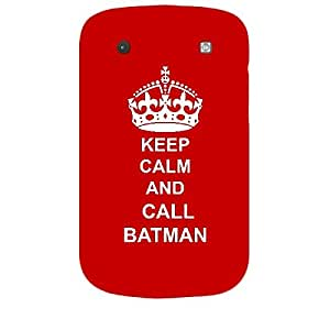 Skin4gadgets Keep Calm and CALL BATMAN - Colour - Red Phone Skin for BLACKBERRY BOLD 9900